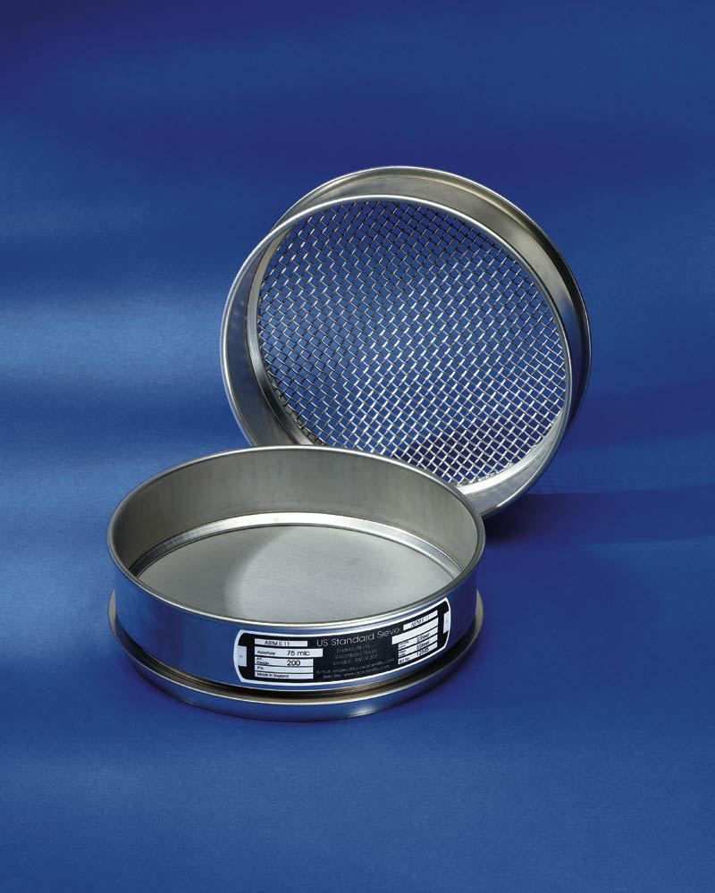 "CSC 8"" Stainless Steel Sieve 150 micron or #100"