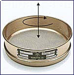 "[A008BAW.425] CSC 8"" Brass ASTM Sieve 425 micron or #40"