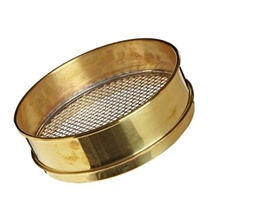 "[A008BAW9.50] CSC 8"" Brass Sieve 9.50mm or 3/8"""
