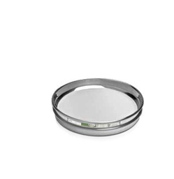 "[A008SAW.125H] CSC 8"" Stainless Steel Half-Height Sieve 125 micron or #120"