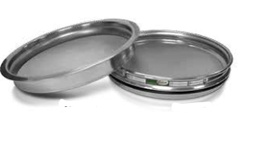 "[A008SAW1.18H] CSC 8"" Stainless Steel Half-Height Sieve 1.18mm or #16"