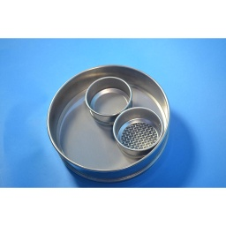 "[A008SAW11.2] CSC 8"" Stainless Steel Sieve 11.2mm or 7/16"""