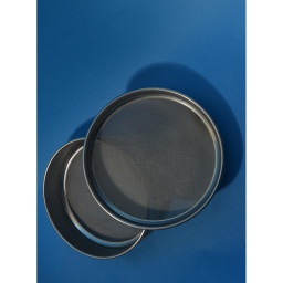 "[A008SAW4.00H] CSC 8"" Stainless Steel Half-Height Sieve 4.00mm or #5"