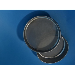 "[A008SAW4.75H] CSC 8"" Stainless Steel Half-Height Sieve 4.75mm or #4"