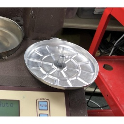 [26677000] Moisture Balance Weighing Pan/Retainer Pan